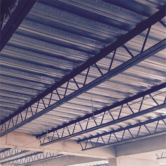 Vigas Joist | Arquitectura en Acero | Vigas Estructurales | Entrepisos con viguetas metálicas steel joist