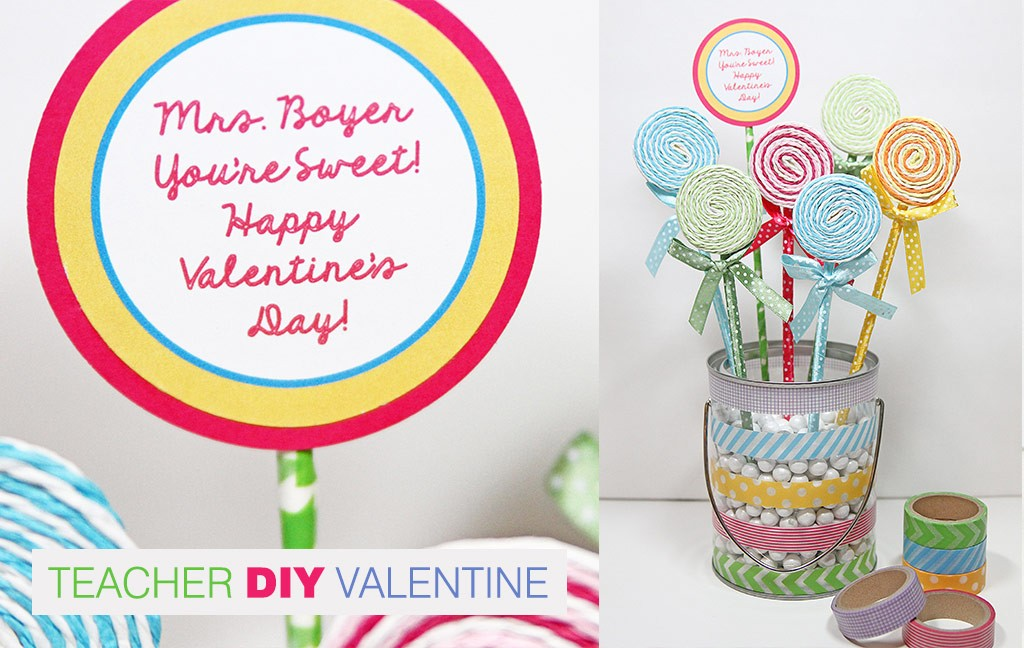"photograph relating to Printable Valentine Card for Teacher called A single Savvy Mother â""¢ NYC Place Mother Website: 9 Do-it-yourself Valentines Working day"