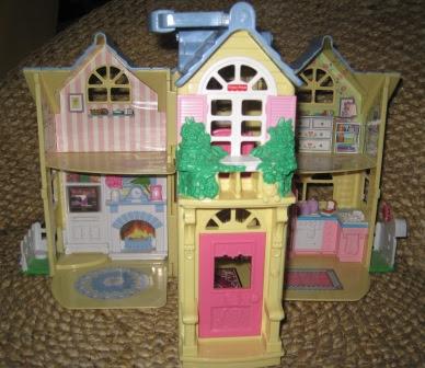 JuaiMurah: Fisher Price Little People Doll House