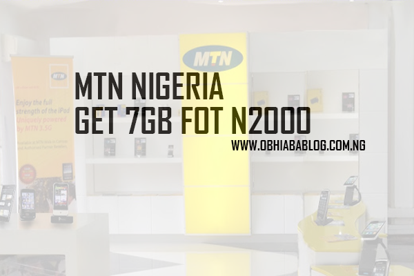 7GB For Just N2000
