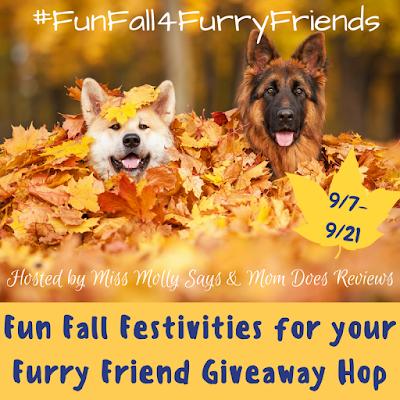 #FunFall4FurryFriends Giveaway Hop