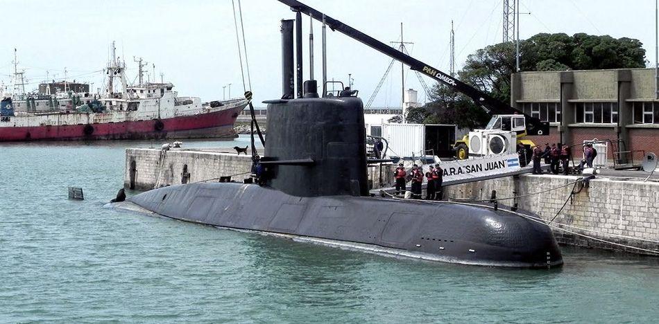 Submarino ARA San Juan desapareció el 15 de noviembre con 44 tripulantes