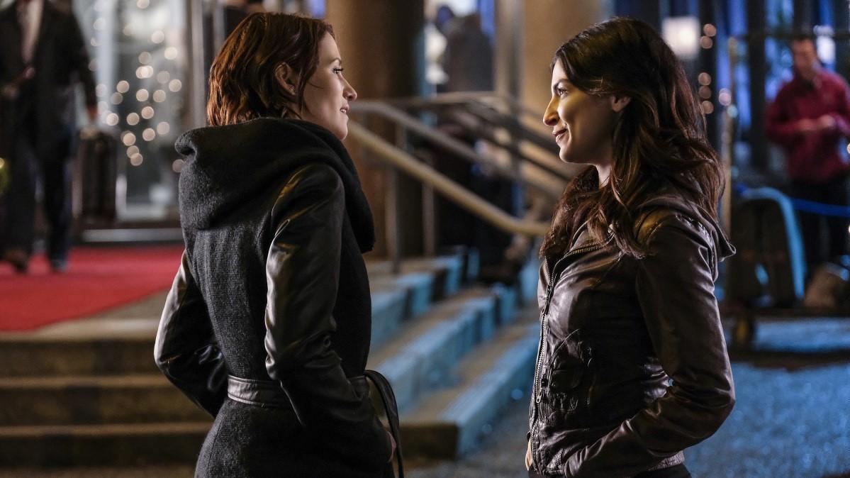 Alex y Maggie haciendo frente a sus problemas como personas adultas en 'Supergirl'