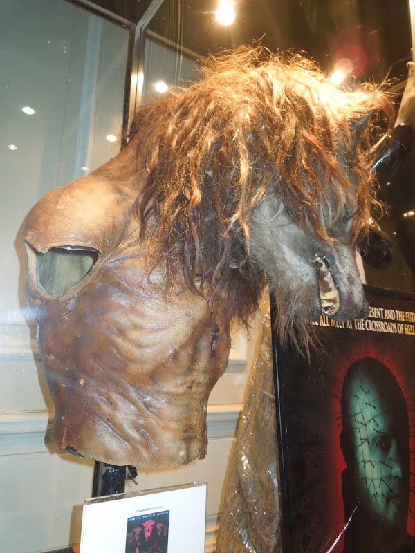 Dog Soldiers werewolf prosthetics