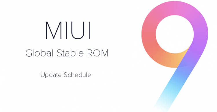 ROM Xiaomi Miui 9 Global Stable