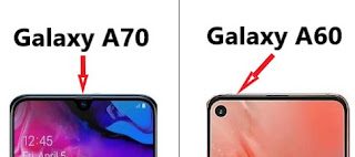 Kamera dan desain Samsung Galaxy A70 dan Galaxy A60