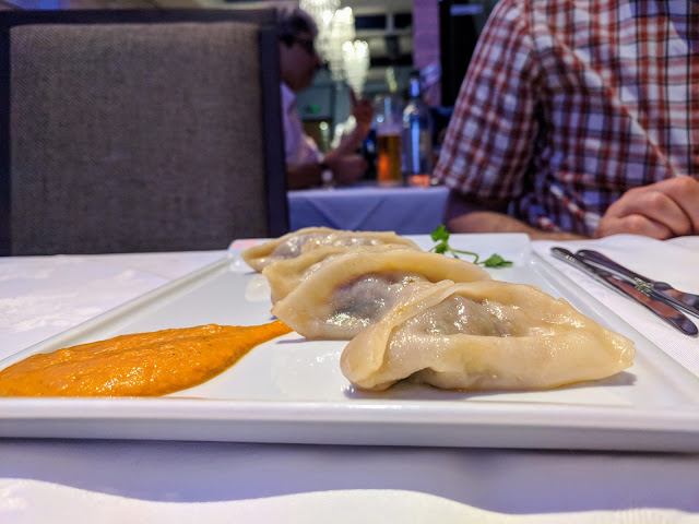 What to eat in Aberdeen: momos at 8848