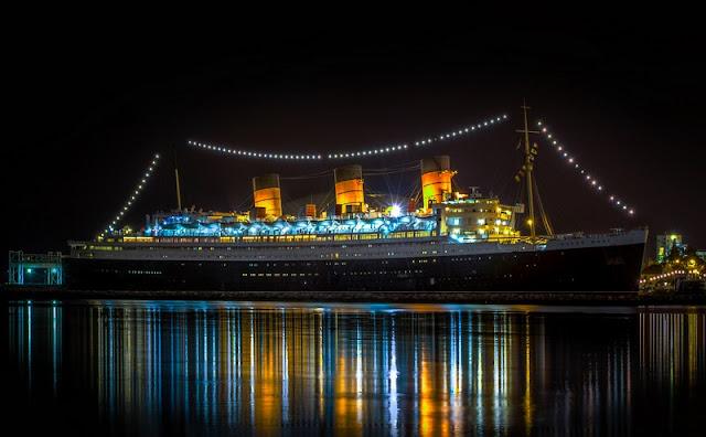 Ir com criança no Navio Queen Mary em Long Beach