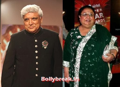 Javed Akhtar and Honey Irani, Bollywood's shocking divorces - List of Divorce Bollywood Celebs