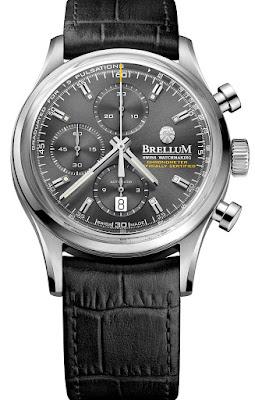 BRELLUM Duobox Chronometer watch black dial