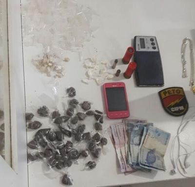 8eac2fae13 18ª CIPM captura o traficante Adrianinho que possuía mandado de ...