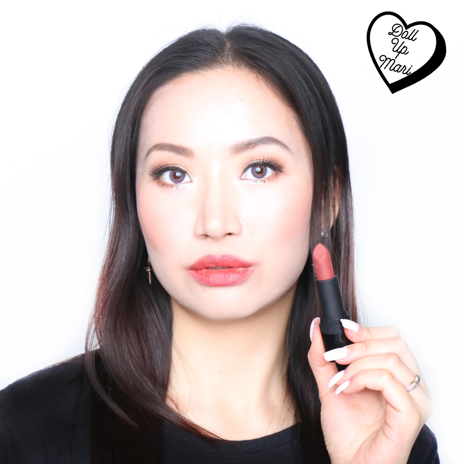 AVON Perfectly Matte Nudes Lipstick (P504 Chocolate Crush