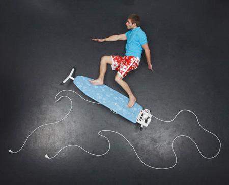 Surfing dream