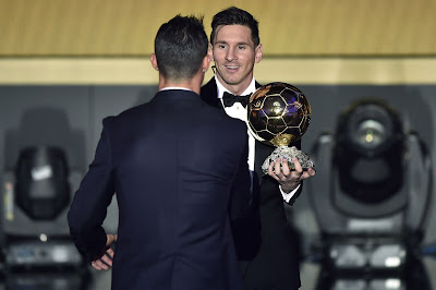 1d - Lionel Messi wins Ballon d'Or for fifth time - more pictures