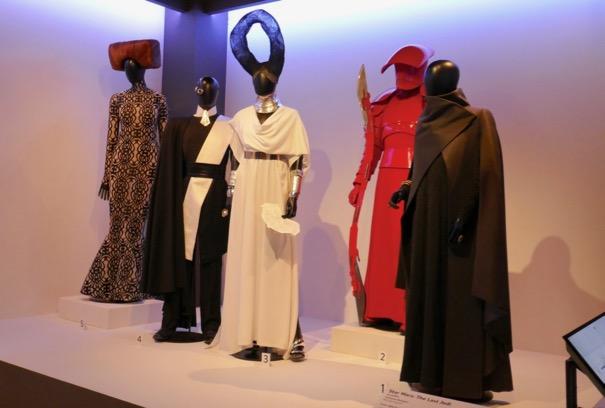 Star Wars Last Jedi film costumes