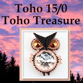Toho 15/0 pyöreät siemenhelmet, Toho Treasure 11/0 korutarvikkeet - helmikauppa netissä