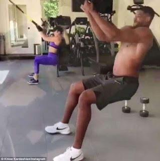 NBA star Tristan Thompson and Khloe Kardashian