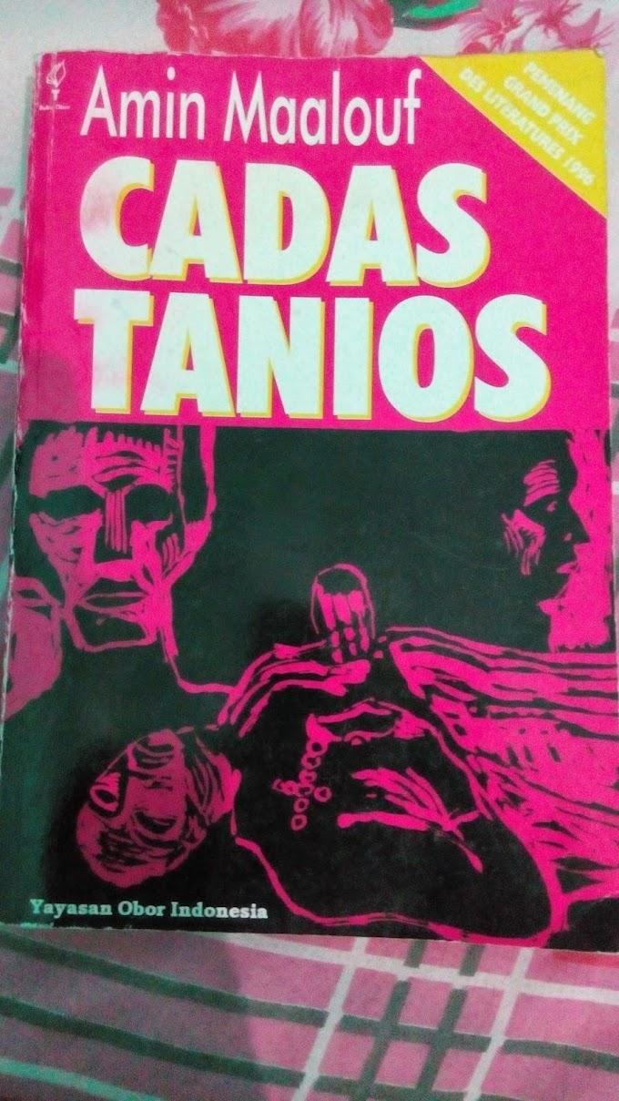 [BOOK REVIEW] Cadas Tanios by Amin Maalouf #MBRCKBI2015