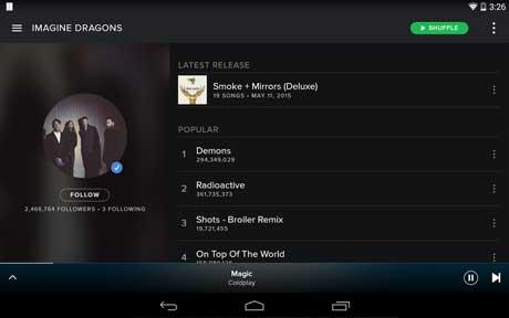 Spotify Music Premium APK MOD