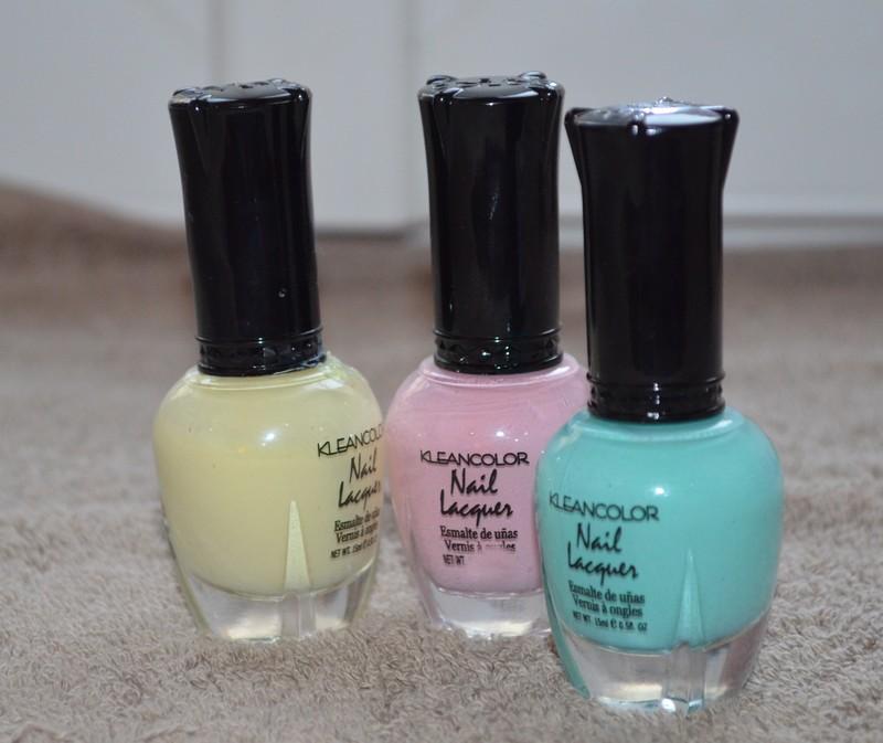 vernis pastels kleancolor