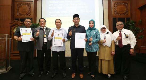 Wali Kota dan Sekda Bandung Sosialisasikan e-Filling