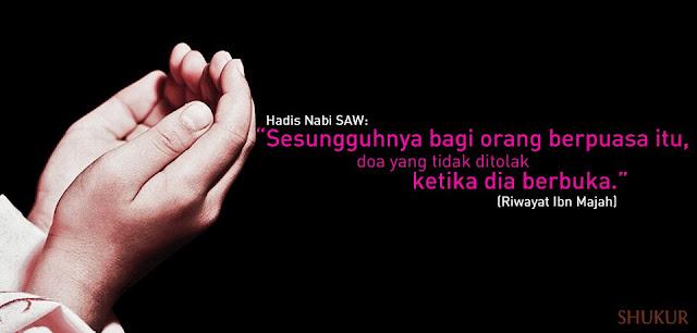 Selamat Berpuasa, Ramadan, Bersahur, Berbuka, Hadis Nabi,