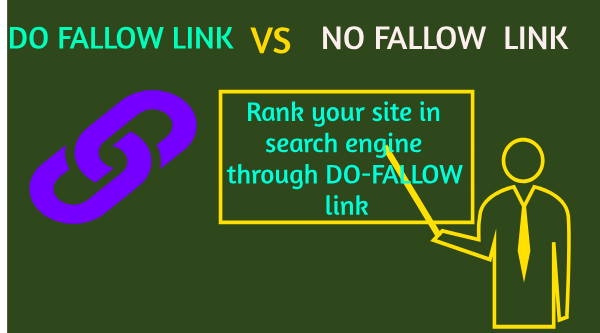 rank your site by do fallow link and earn the money