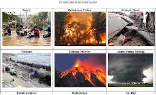 15 Macam Bencana Alam secara Alami