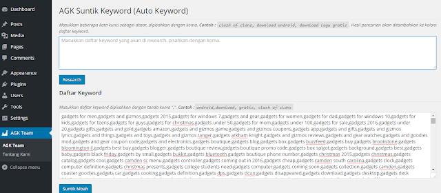 Cara Menjalankan Plugin AGK Wordpress Dijamin Visitor Meledak