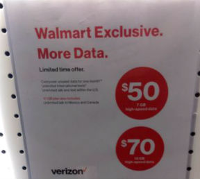 Walmart Com Phone Number Call Now Skip The Wait Gethuman >> Verizon Walmart Exclusive Prepaid Plans Now With More Data Prepaid