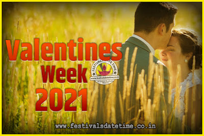 2021 Valentine Week List : 2021 Valentine Week Schedule, Hug Day, Kiss Day, Valentine's Day 2021