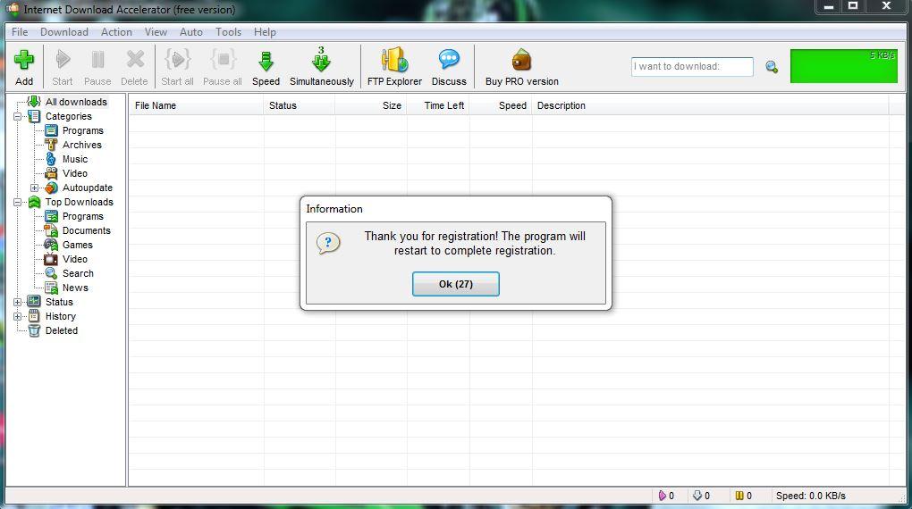 Internet downloader manager 6.12