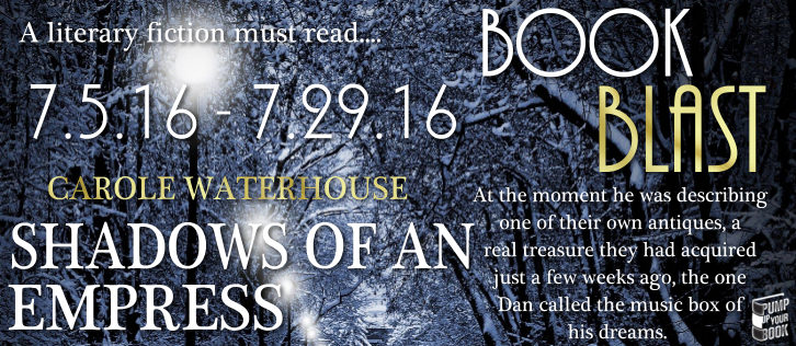 PUYB Book Blast: Shadows Of An Empress by Carole Waterhouse