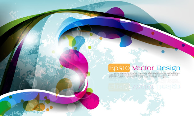 Abstract Vector Background Object  Vector