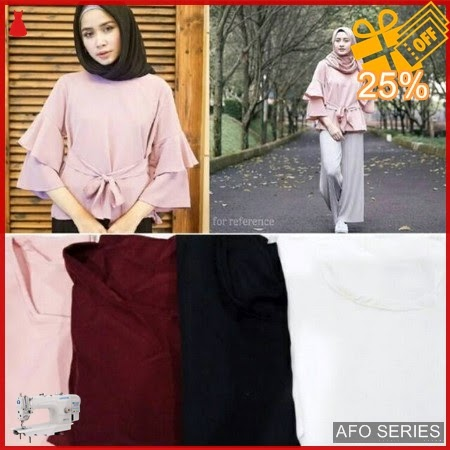 AFO187 Model Fashion Vanisa Top Modis Murah BMGShop