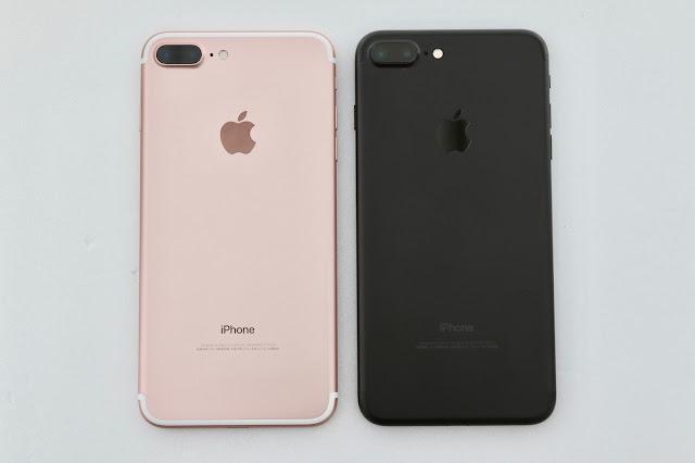 不同 Apple iPhone 7 Plus 機身背面差異
