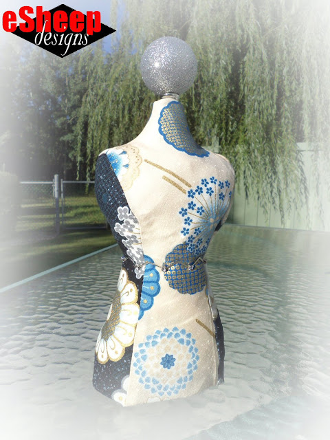 Dress Form Mini Mannequin crafted by eSheep Designs