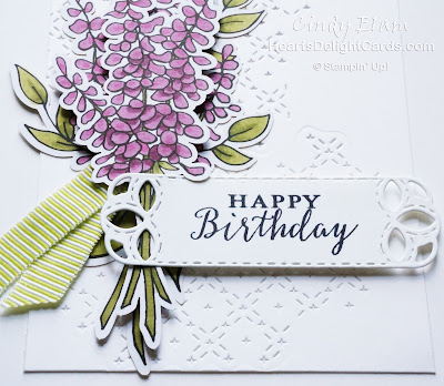 Heart's Delight Cards, Lots of Happy Card Kit, Detailed With Love, Birthday Card, Stampin' Up!