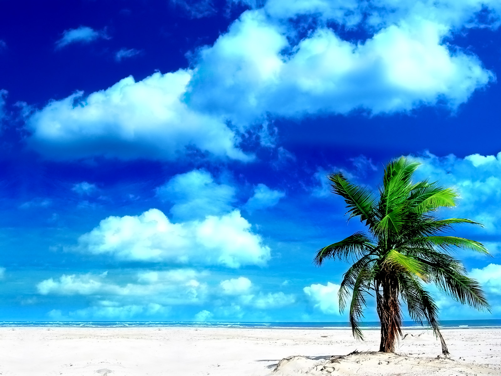 Wallpaper pemandangan pantai  Silakan Kemari