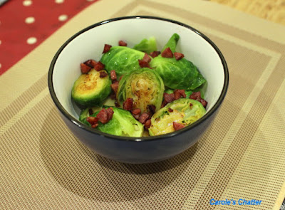 Carole's Chatter: Brussel Sprouts