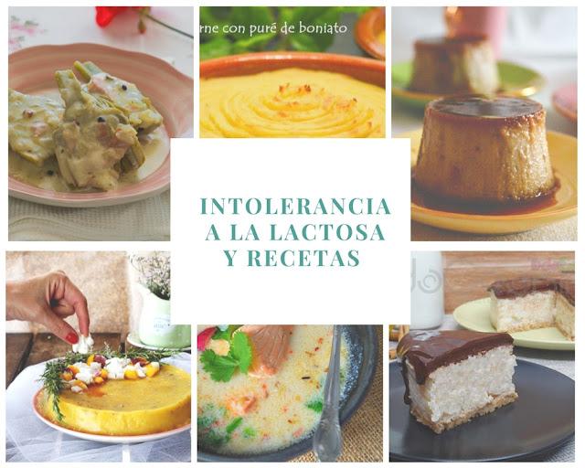 Intolerancia a la lactosa y recetas aptas para intolerantes
