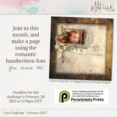 February Font challenge