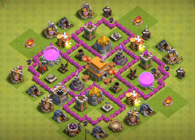 best town hall 6 farming base