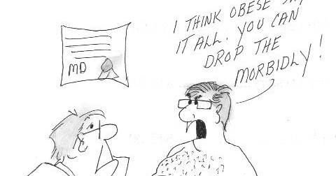 Motivating Moments: Life Lesson Cartoons Morbidly Obese???