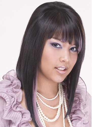 Two Toned Colored Hair: Ponytail Hairstyles 2012: Two Tone Hair Color For Long Hair