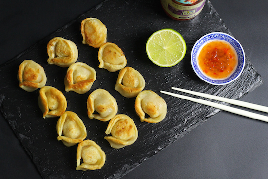 King prawn salmon wonton recipes