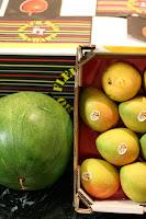Apples Mangoes Watermelon