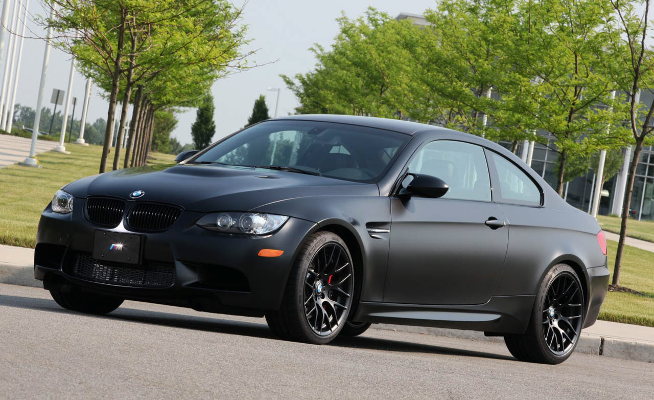 2011 BMW Frozen Black Edition M3 Coupe ~ Sport Cars and ...