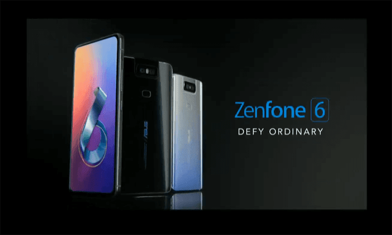 ASUS ZenFone 6 now official with Snapdragon 855 and new Flip Camera technology