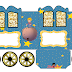 The Little Prince: Princess Carriage Shaped Free Printable Boxes.